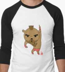 Bear-Gief Men's Baseball ¾ T-Shirt