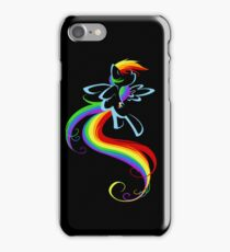 Flowing Rainbow iPhone Case/Skin