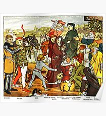 Chaucer's Canterbury Tales Poster