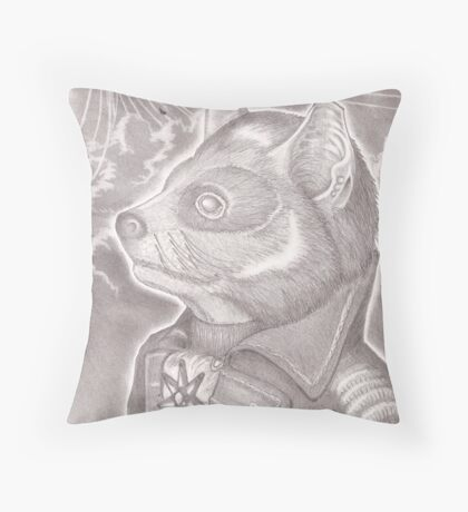The Proud Tasmanian Throw Pillow