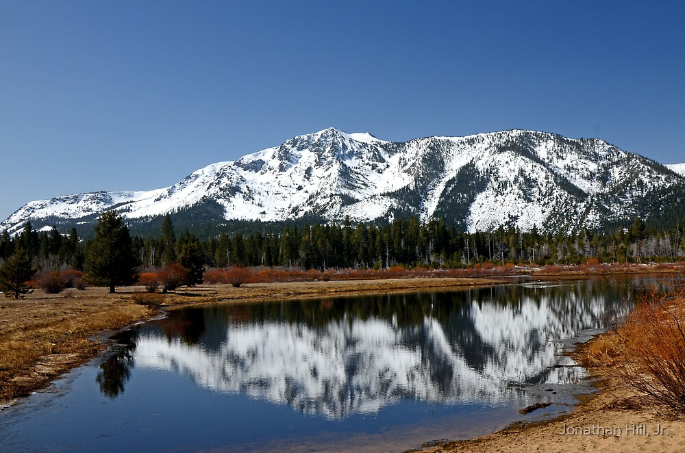 Reflections on Mt. Tallac by Jonathan Hill, Jr.
