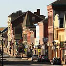 Sunny Morning, Downtown Yarmouth by Debbie  Roberts