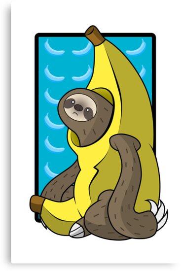Banana Sloth by Sarah Hendricks
