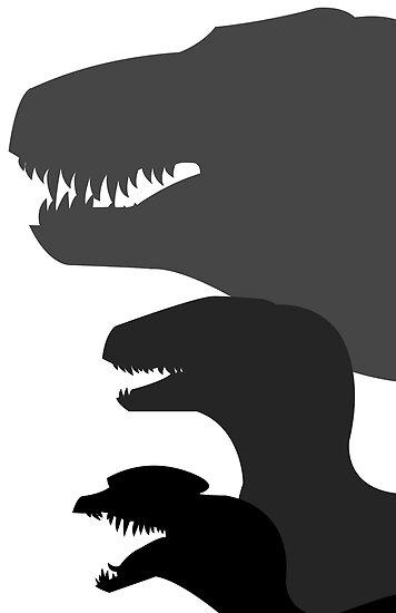 Jurassic Park Poster v1 by necroMatador
