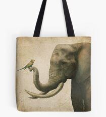 A New Friend (colour option) Tote Bag