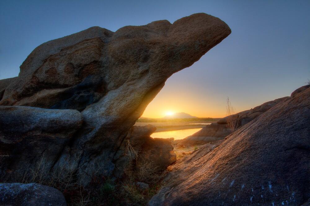 Sunset Pinch by Bob Larson