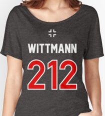 Panzer Aces - Michael Wittmann Women's Relaxed Fit T-Shirt