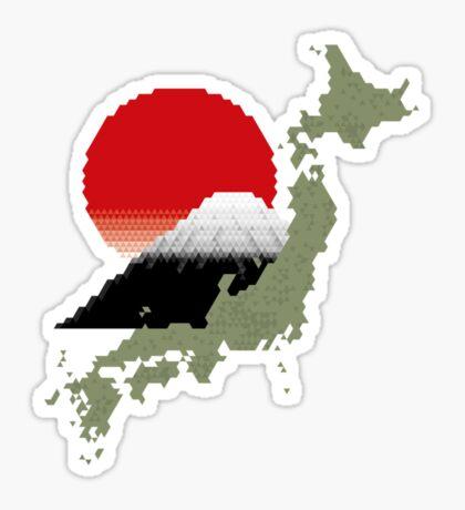 Geo Japan 2 Sticker