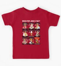 9 Pope Johns, CR2 selection Kids Tee