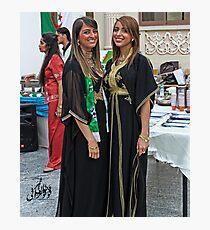 Algerian Traditional Fashion Photographic Print