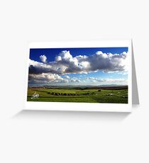 Algerian Landscape Greeting Card
