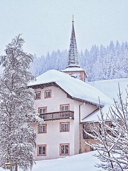 Filzmoos Blizzard by mlphoto