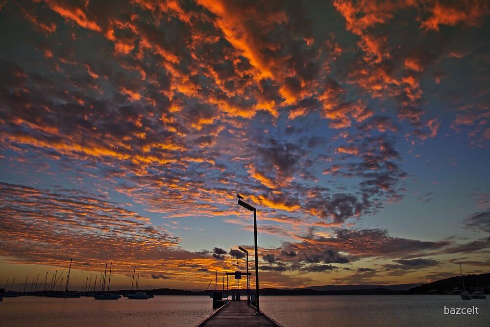 Jonathan Livingston Sunset by bazcelt