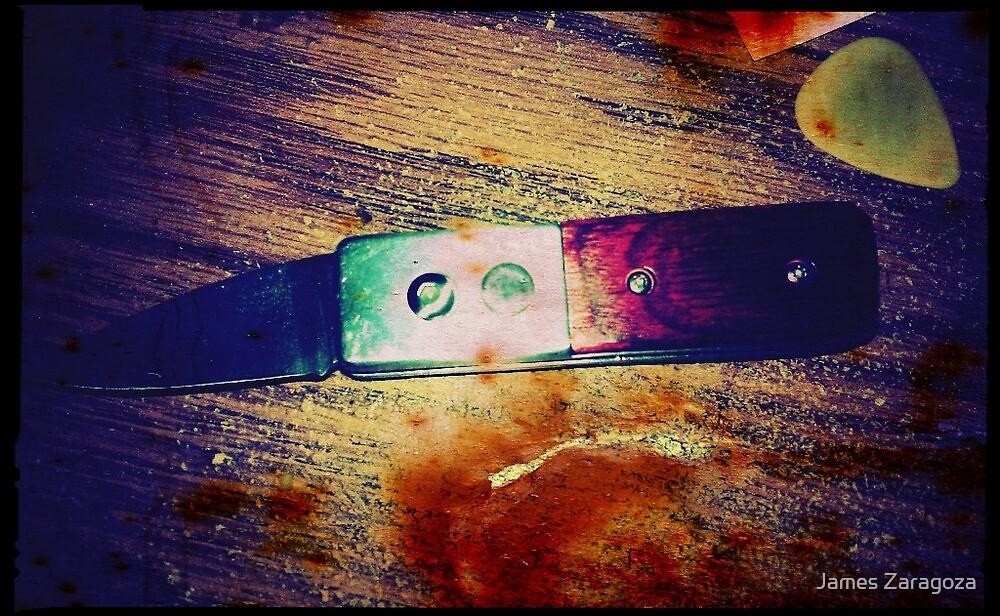 Happy Knife by James Zaragoza