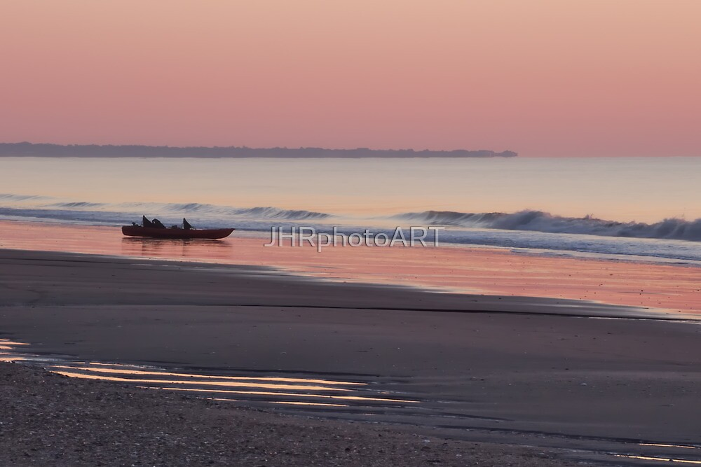 Sunrise at Edisto Beach by JHRphotoART