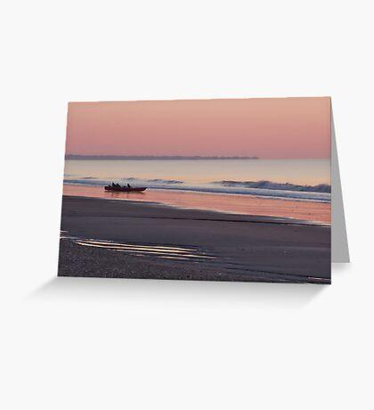 Sunrise at Edisto Beach Greeting Card