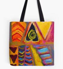 Tribal Heart Tote Bag
