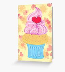 Love Cupcake Greeting Card