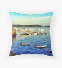 Stonington, Maine Throw Pillow
