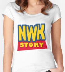 'Newark Story' Women's Fitted Scoop T-Shirt