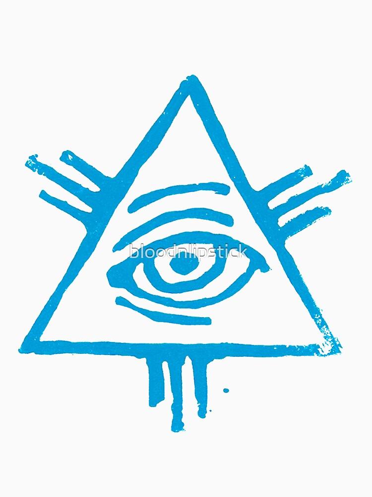Eye of Providence in light blue von bloodnlipstick