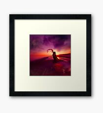ROAD TO AWE Framed Print