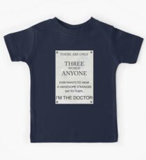 3 Whovian Words Kids Clothes