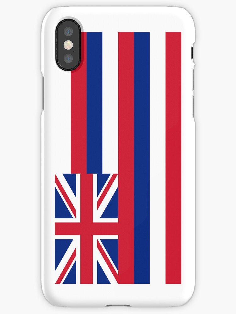 Smartphone Case - State Flag of Hawaii  - Vertical by mpodger
