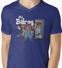 My Balrog And Me Men's V-Neck T-Shirt