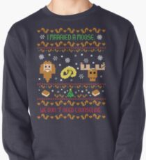 I Married A Moose Christmas Sweater Pullover