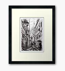 Montmartre 11 Framed Print