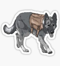 Support Military/Service Dogs Sticker