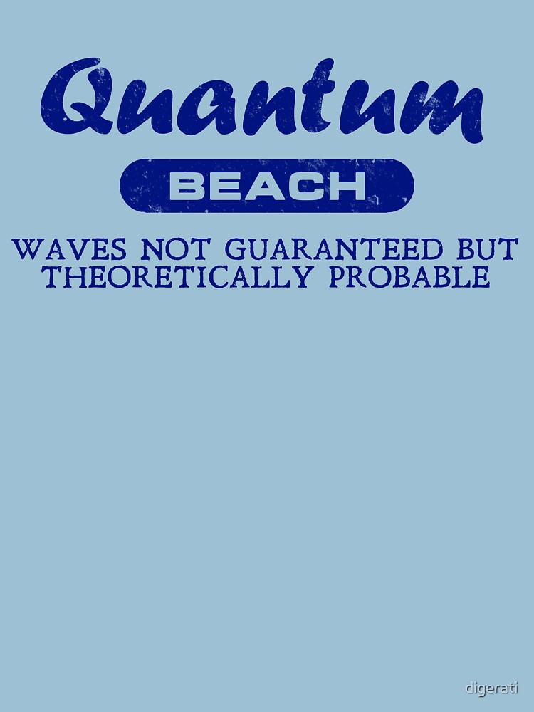 Quantum Beach: Waves not guaranteed but theoretically probable by digerati