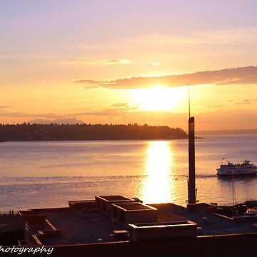 Sunset in Seattle  by TalonPhotograpy