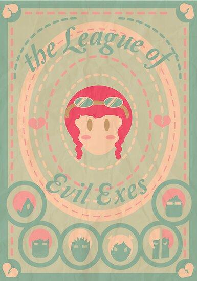 the League of Evil Exes by espanameg