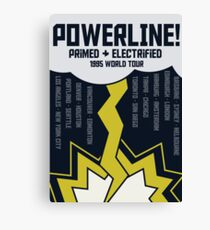Powerline World Tour Canvas Print
