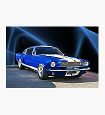1965 Shelby Mustang Photographic Print
