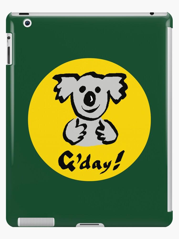 "Koala ""G'day!"" by Ron Marton"