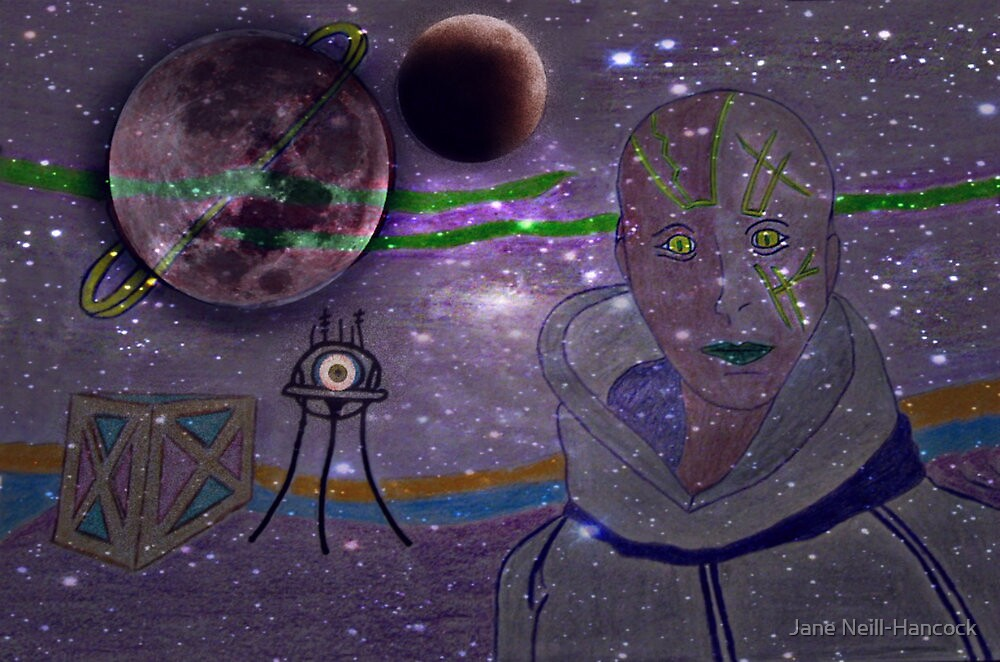Alien by Jane Neill-Hancock
