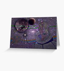 Alien Greeting Card