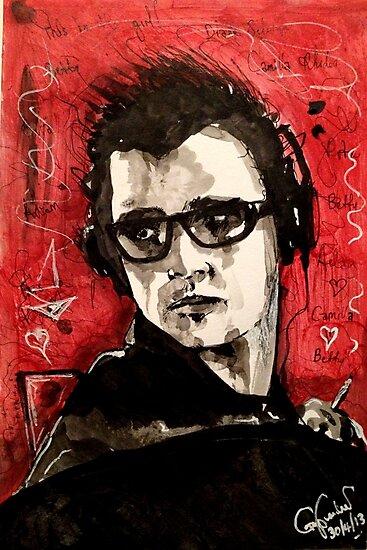 """It's a weird life for Adam Kesher"" by John Dicandia ( JinnDoW )"