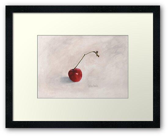 Cherry II Print by cathy savels