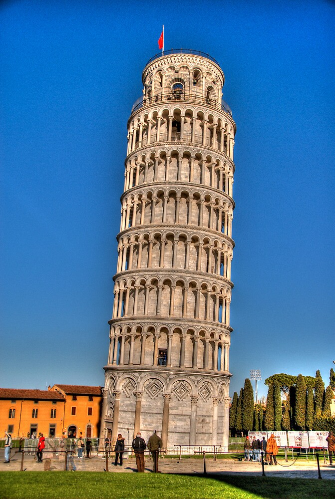 Leaning Tower 1 by Tiffany-Rose