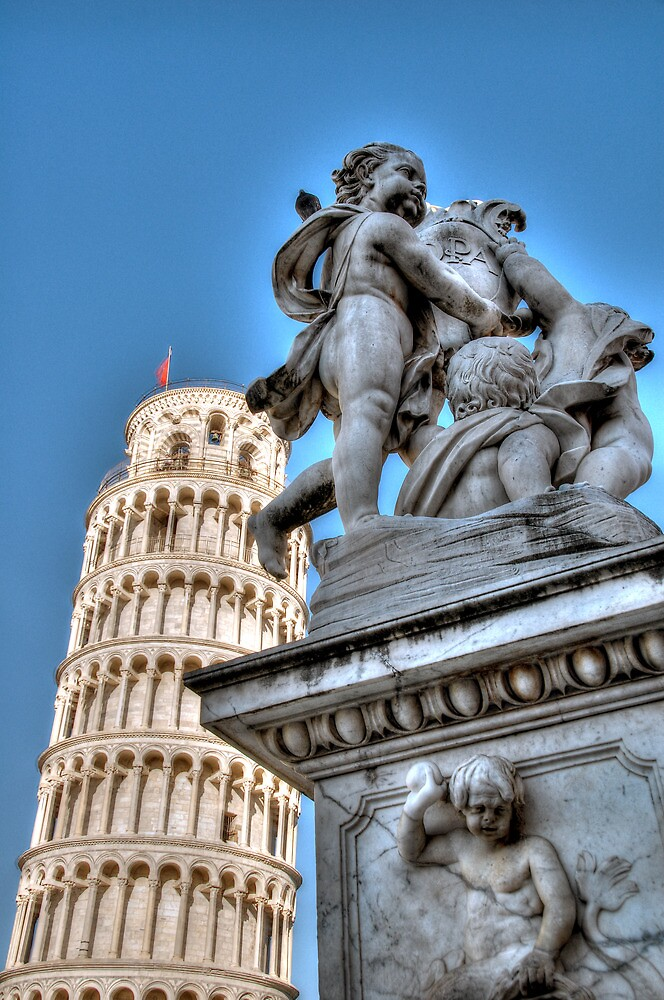 Leaning Tower 2 by Tiffany-Rose
