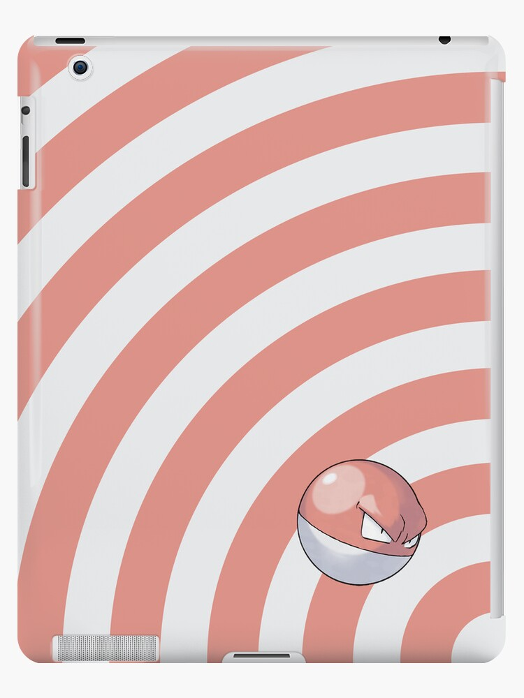 Pokemon - Voltorb Circles iPad Case by Aaron Campbell