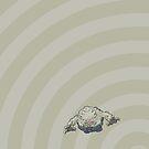 Pokemon - Graveler Circles iPad Case by Aaron Campbell