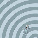 Pokemon - Machop Circles iPad Case by Aaron Campbell