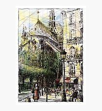 Paris 4 in colour Photographic Print