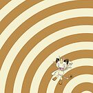Pokemon - Meowth Circles iPad Case by Aaron Campbell
