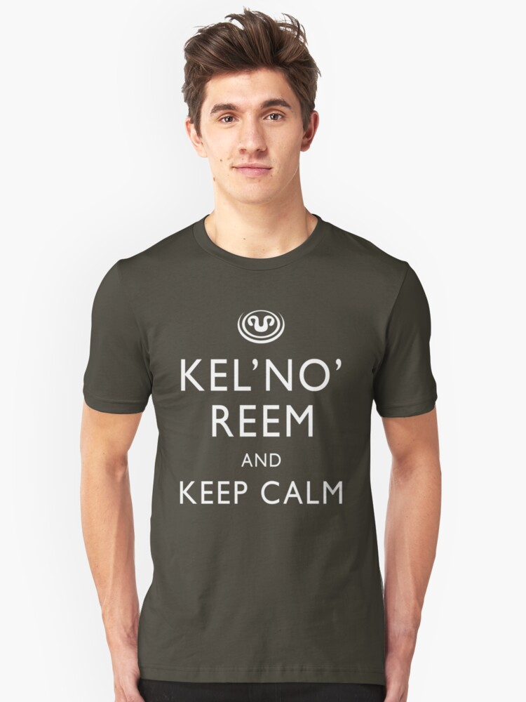 Kel'No'Reem and Keep Calm by boogiebus
